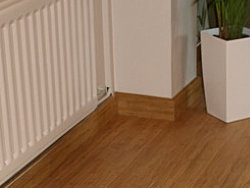 Bamboo Floor and Skirting
