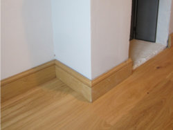 Solid Oak Skirting